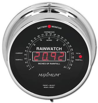 Rainwatch – Chrome case, Black dial WRNBC