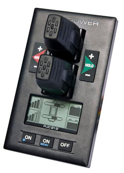 Dual Speed Control Panel w/Display, 12/24V, S-Link