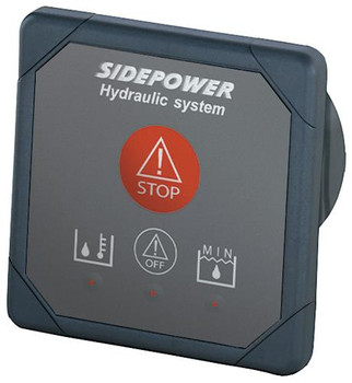 Hyd Warning Info & Emergency Shut Down Panel, 12V SM8980-12V