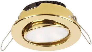 Imtra Captiva Eyeball ILIM31705 PowerLED Downlight - Gold Trim Ring Warm White