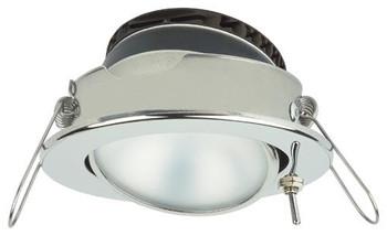 Imtra Captiva Eyeball ILIM31707 PowerLED Downlight - Stainless Steel Warm White w/ Switch