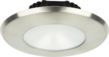 Imtra Sigma Large ILIM32121 PowerLED Downlight - Brushed Stainless Warm White
