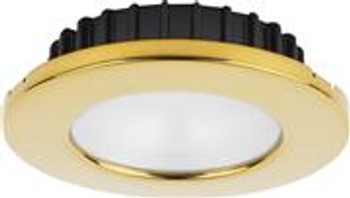 Hatteras PowerLED, 10-30VDC, Warm White Gold trim
