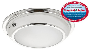Imtra Gibraltar ILIM10544 PowerLED Downlight - Stainless Steel Trim Bi-Color Cool White/Blue w/ 3 Way Switch