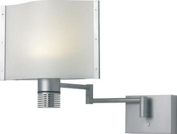 Prebit ILPB25010307 Lubeck LED Boat Wall Sconce w/Extension - Matte Chrome - Warm White
