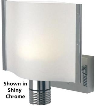 Prebit ILPB25013307 Rostock LED Boat Wall Light Sconce - Matte Chrome - Warm White