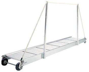 """Gangway """"PA160.25"""", Manual Gangway 2500mm Alum w/Alum Deck Finish"""