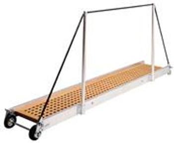 """Gangway """"PT162.25"""", Manual Gangway 2500mm Alum w/Teak Deck Finish"""