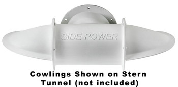 "SM90077 Set of Cowlings for 185mm (7.3"") Stern Tunnel Long Composite"