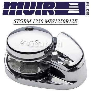 Muir Storm 1250 Low Profile 12V Windlass MSS1250R12E