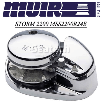 Muir Storm 2200 Low Profile 24V Windlass MSS2200R24E