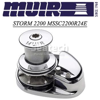 Muir Storm 2200 Capstan 24V Windlass MSSC2200R24E