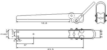 IABR-22L Dimensional Drawing.