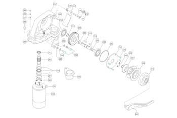 Parts Breakdown for the Lofrans Dorado Windlass