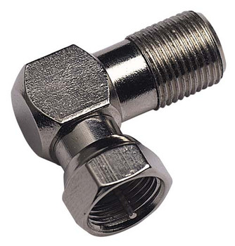 Male-to-Female 90 Degree Connector, Standard