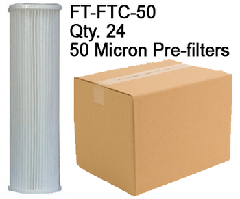Spectra 50 Micron Pre-filters FT-FTC-50 Case Qty