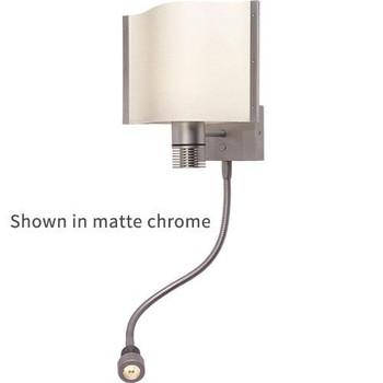 Prebit ILPB25023305 Rostock-Flex LED Boat Wall/Reading Light - Chrome Warm White