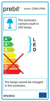 Prebit ILPB25023707 Jana-Flex LED Boat Wall/Reading Light - Matte Chrome Finish Warm White