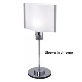 Prebit ILPB25012309 Rostock LED Marine Table Lamp w/ Switch & Dimmer- Gold - Warm White