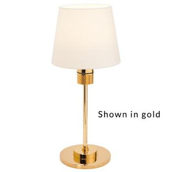 Prebit ILPB70100705 Kati LED Marine Table Lamp w/ Switch & Dimmer- Chrome - Warm White