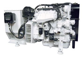 Phasor Marine J4-99.0KW Standard Series Boat Diesel Generator (J4-99.0KW)
