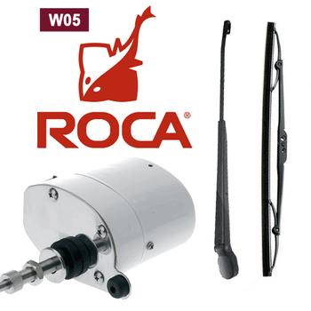 "W5 Wiper Motor Kit (Motor, 11-14"" arm, 11"" blade) 24V RC521012"