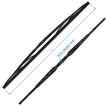 "W25/38/50 Wiper Blade, Black SS, 28"" RC520828"