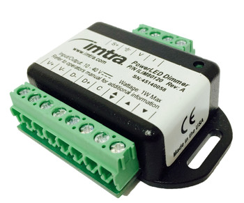 PWM Dimmer, Universal Input (analog/digital), 10-40VDC, Max 30 Units, Momentary Operated