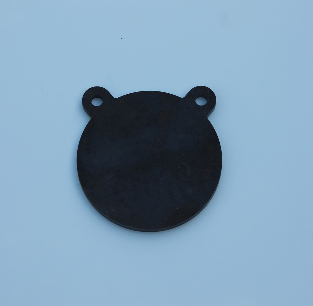 """6"""" AR500 Steel Shooting Target Gong in 3/8"""" thickness"""