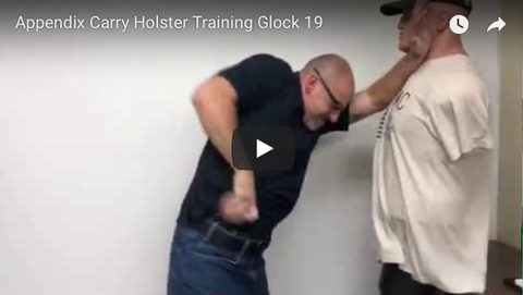 Appendix Carry Holster Training Glock 19