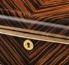 VOLTA EBONY WOOD 10 WATCH CASE - CREAM INTERIOR