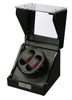 Watch Winder   Diplomat Gothica Double Watch Winder (Black Wood)