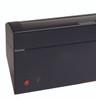 Watch Winder | Diplomat Phantom LED Lit Finish Six Watch Winder with storage (Black Wood)