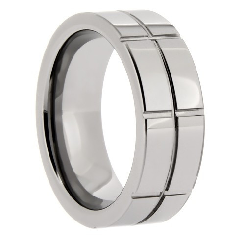 Tungsten Band - Groove Finish