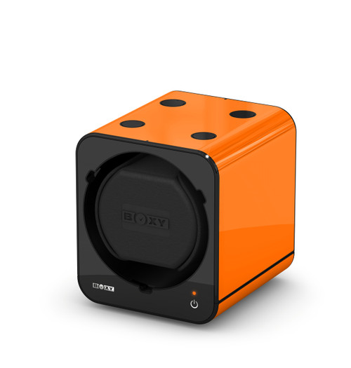 BOXY FANCY Brick Single Watch Winder  - Orange (Add On)