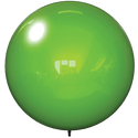 "18"" GREEN BALLOON BOBBER DURABALLOON REPLACEMENT"