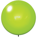 "18"" LIME GREEN BALLOON BOBBER DURABALLOON REPLACEMENT"