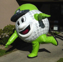 CUSTOM INFLATABLE MASCOT COSTUME