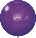 "18"" DARK PURPLE BALLOON BOBBER DURABALLOON REPLACEMENT"