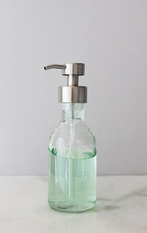 Foam Soap Dispensers Coastal Glass Foaming Soap