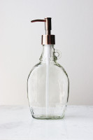 Rustic Cabin Glass Soap Dispenser