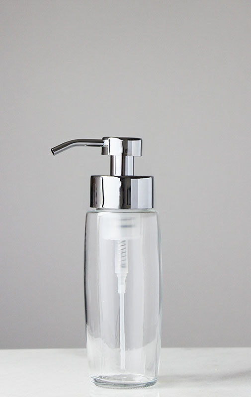 Foaming Soap Dispenser Large Glass Foam Soap Dispenser