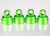 Traxxas 3767GGreen Aluminum Shock Caps for Ultra Shocks