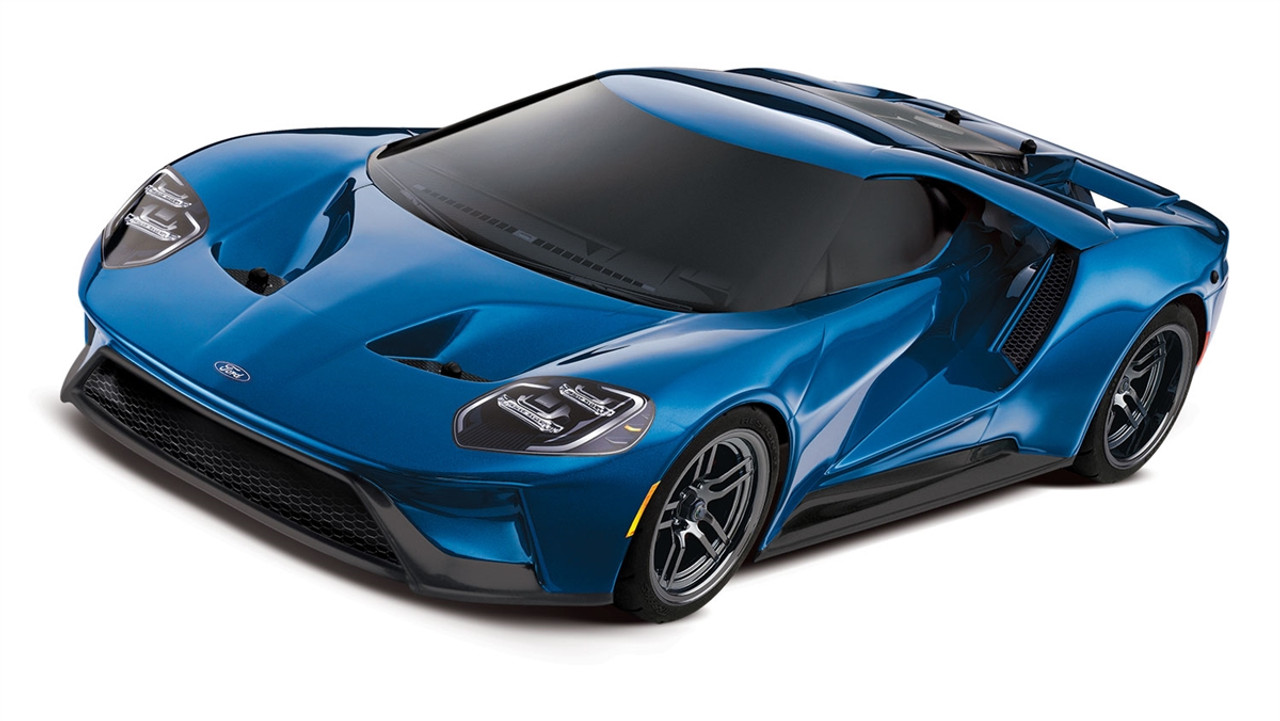 Traxxas   Ford Gt  Tec Awd   Liquid Blue