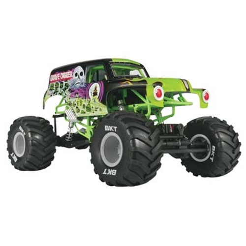 Axial 1/10 SMT10 Grave Digger Monster Jam Truck 4WD