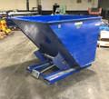 Vestil D-200-LD Steel Self-Dumping Hopper 2000 Lb. Capacity, Bumper Release