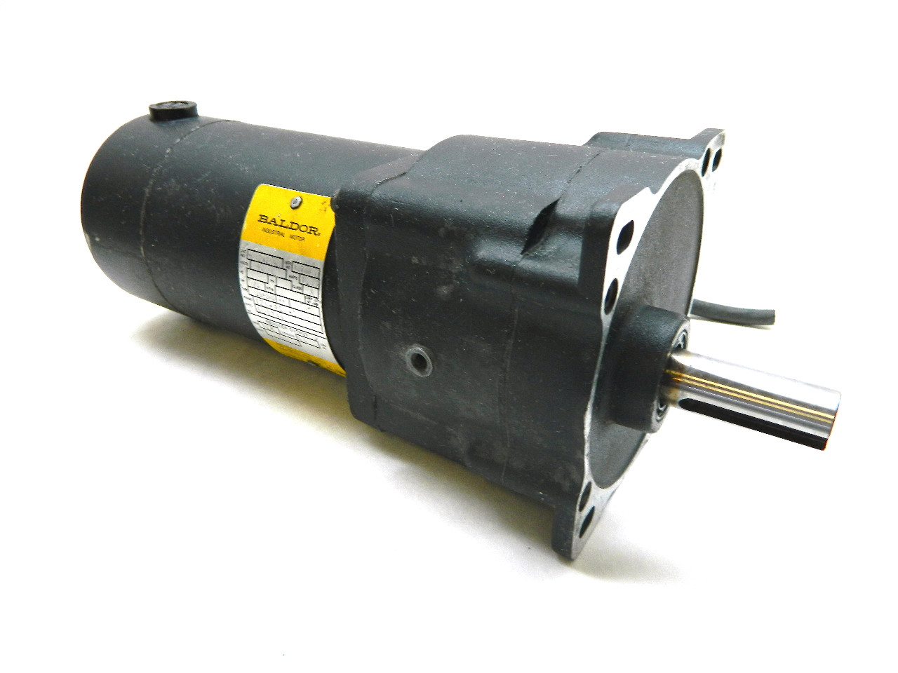 Baldor GPP12543 Parallel Shaft DC Gearmotor 90 Vdc 125 Rpm .13 Hp