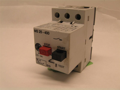 Automation Direct MS25-400 Motor Starter 2.5-4 Amp