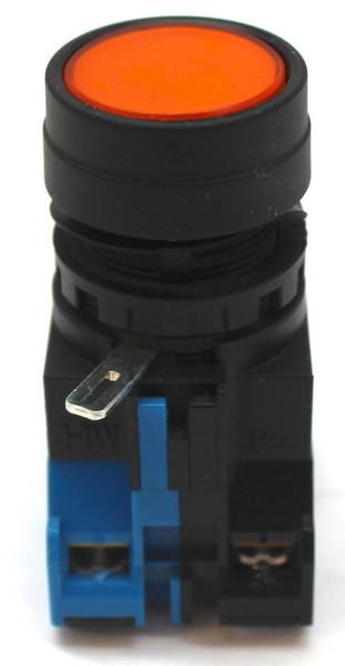 Idec HW-DA1F Orange Illuminated Push Button Switch
