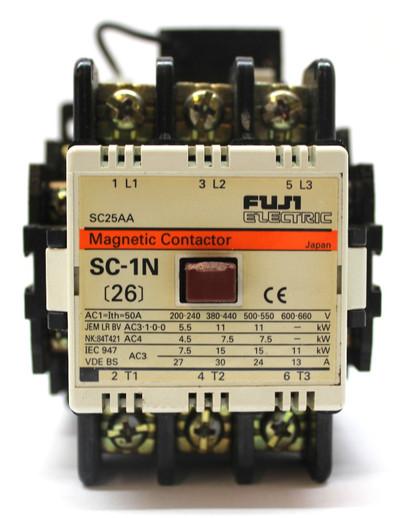 Fuji Electric SC25AA Magnetic Contactor